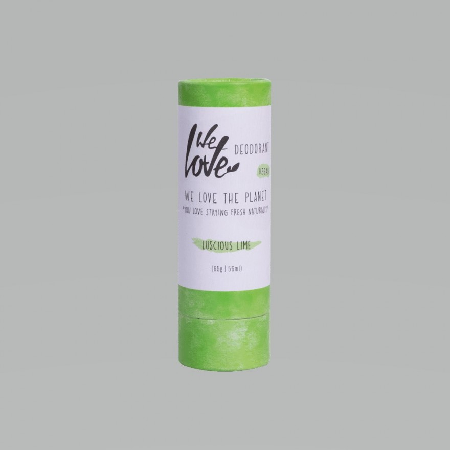 We love the Planet Deostick Luscious Lime (vegan) 65 g
