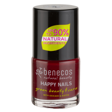 benecos Nagellack cherry red 5 ml